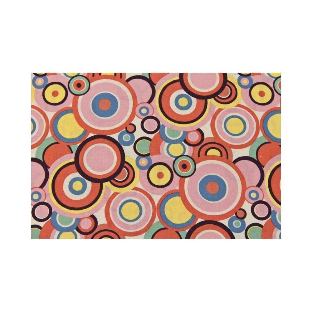 designerstoffe von alexander henry color bubbles clip clutch. Black Bedroom Furniture Sets. Home Design Ideas