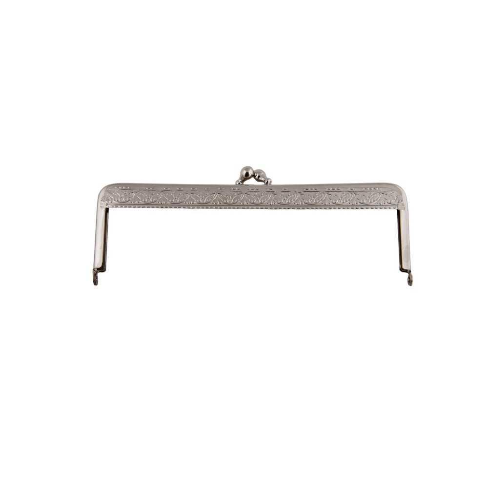 Taschenbügel 086/112 16x10cm nickel-glänzend