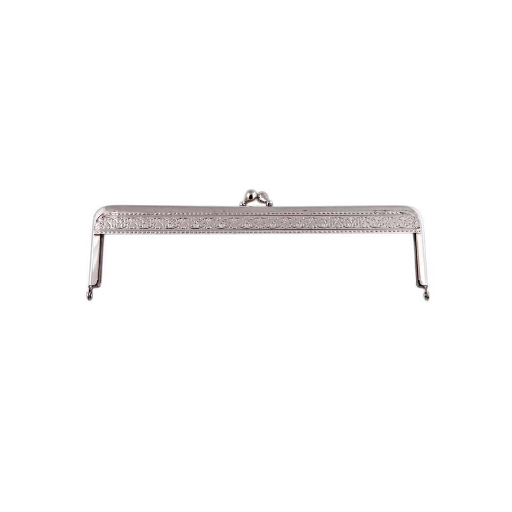 Taschenbügel 086/112 18x10cm nickel-glänzend
