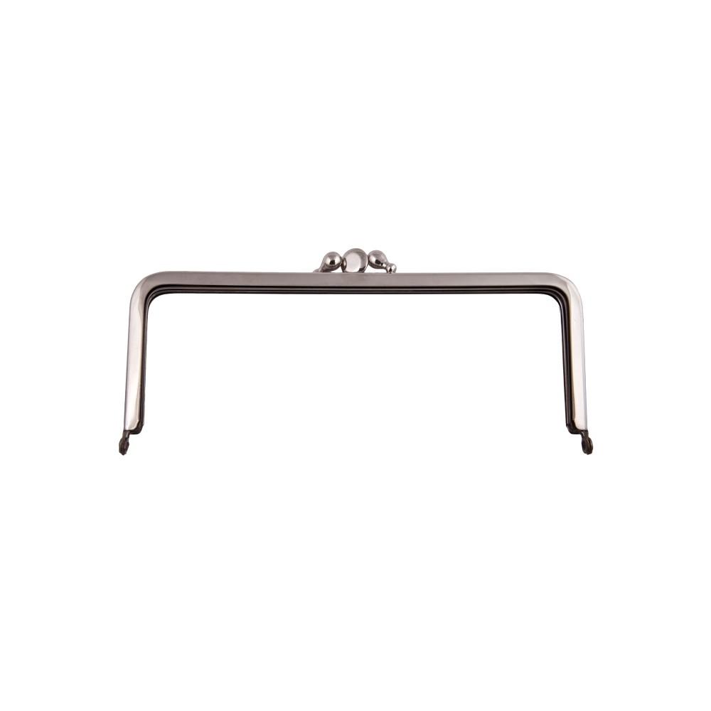 Taschenbügel 086/344 18x10cm nickel-glänzend