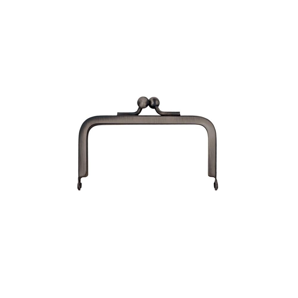 Taschenbügel 228/A4 8x8cm nickel-antik