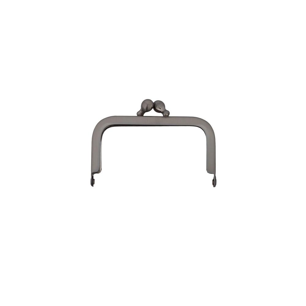 Taschenbügel 086/A4 7x7cm nickel-mattiert