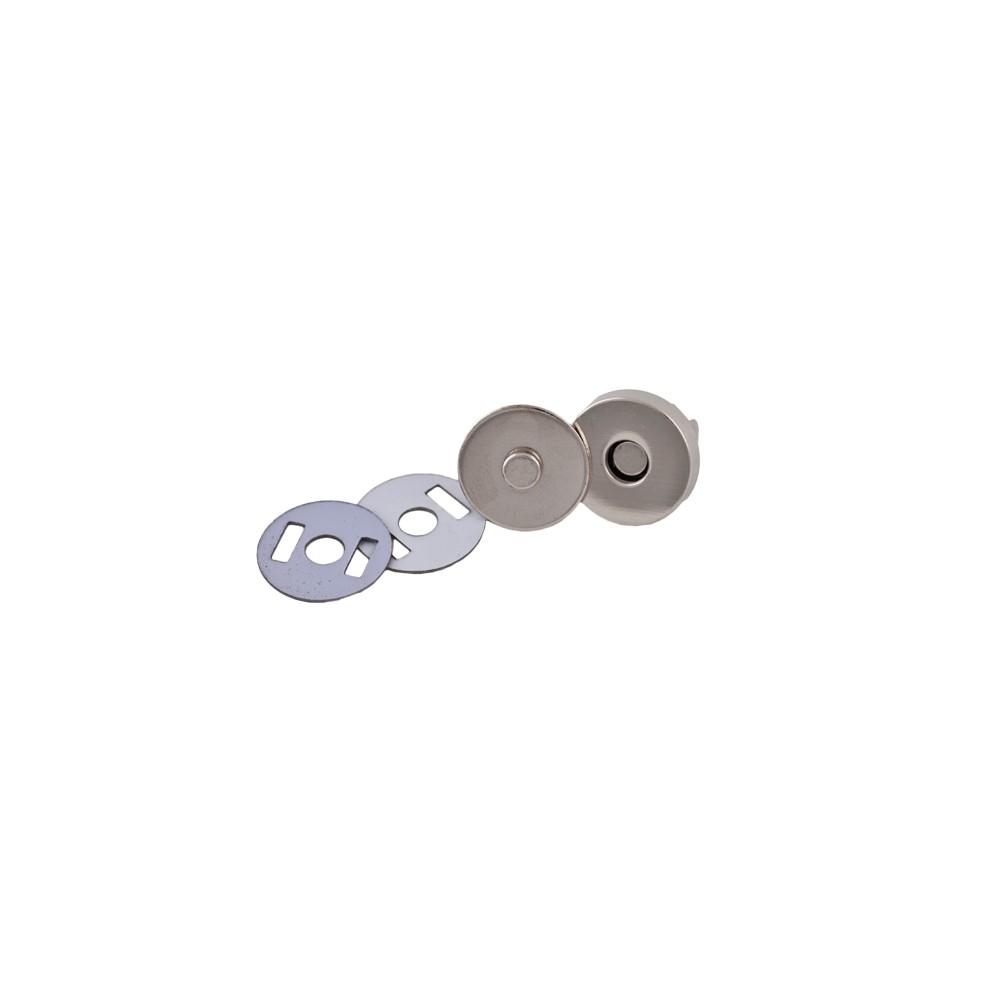Magnetverschluss nickel 18mm