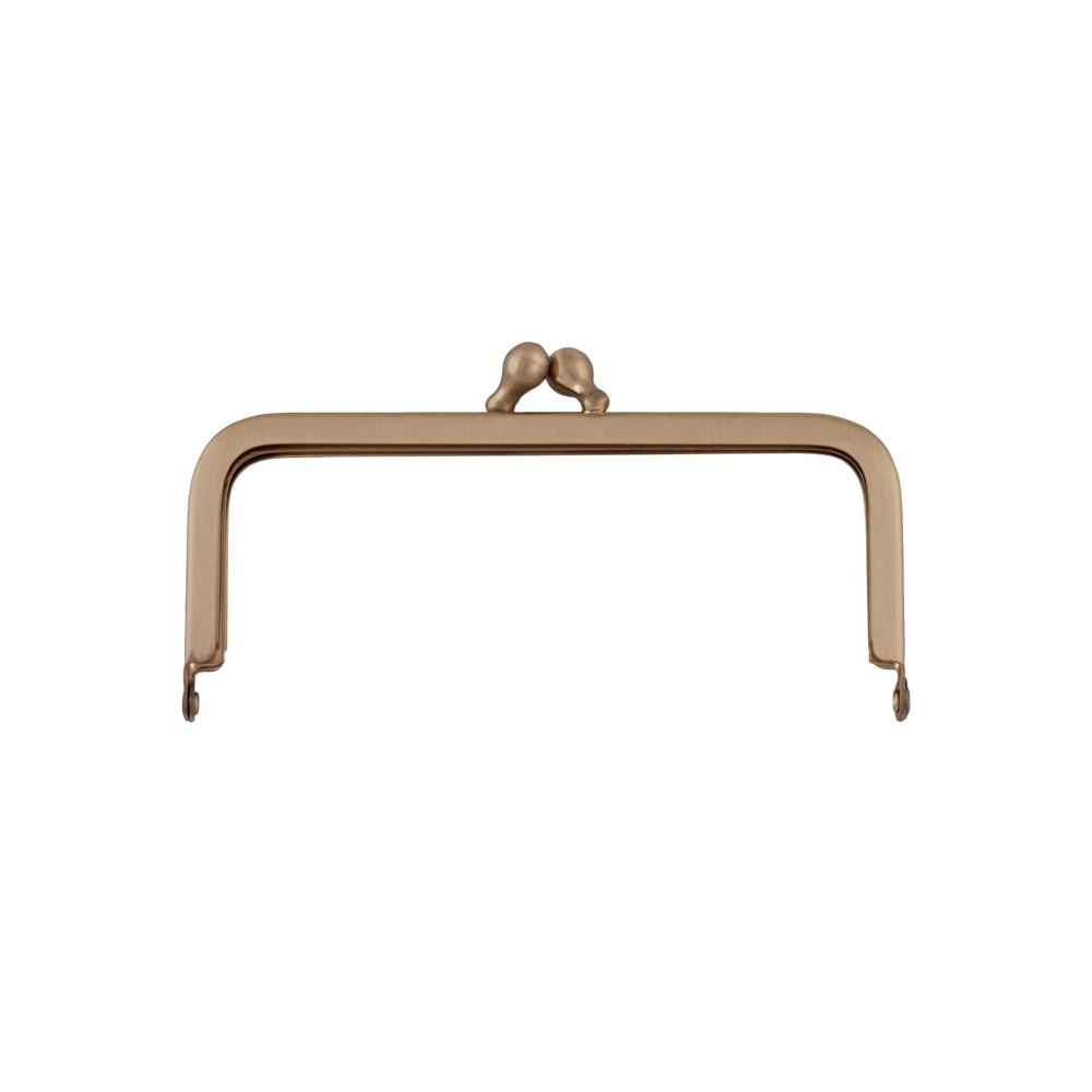 Taschenbügel 086/A4 10x8cm gold-mattiert