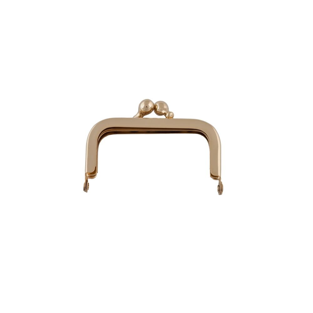 Taschenbügel 086/A4 6x6cm gold -glänzend