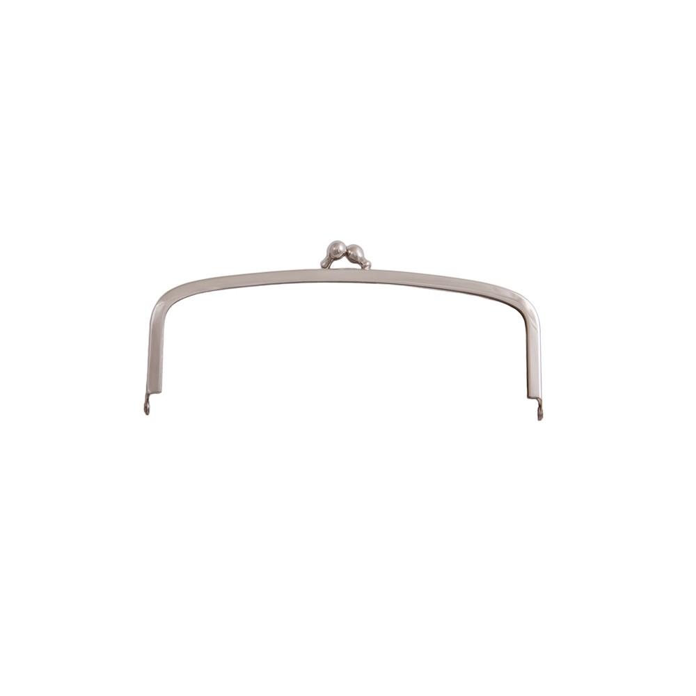 Taschenbügel 086/D 14x10cm nickel-glänzend