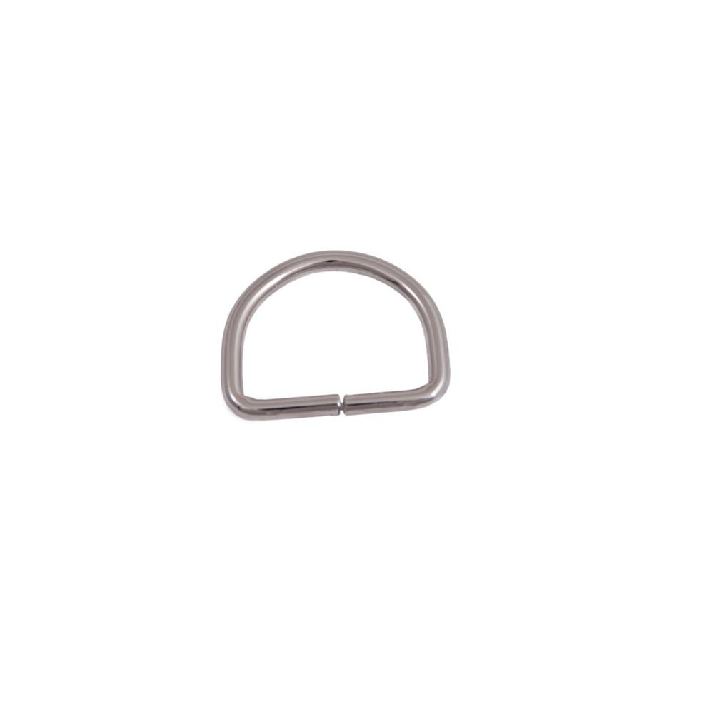 D-Ring 50 mm x 40 mm Nickel