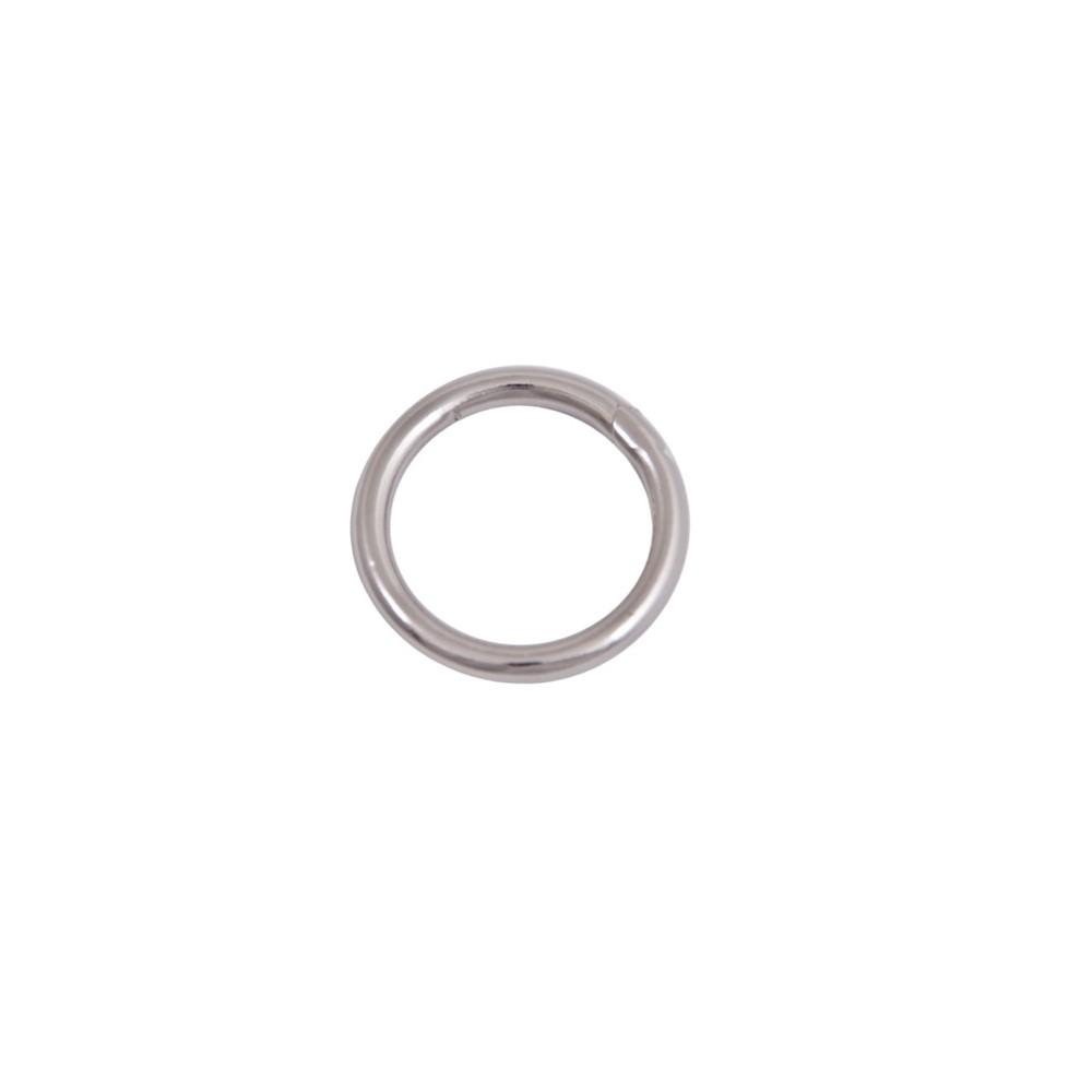 Ring 60 mm Nickel