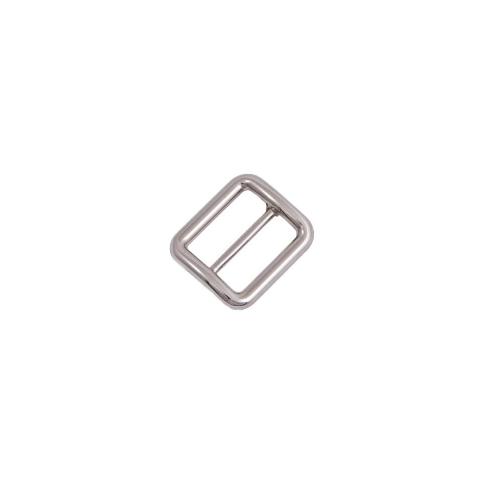 Gurtschieber 43,5 mm x 38 mm Nickel