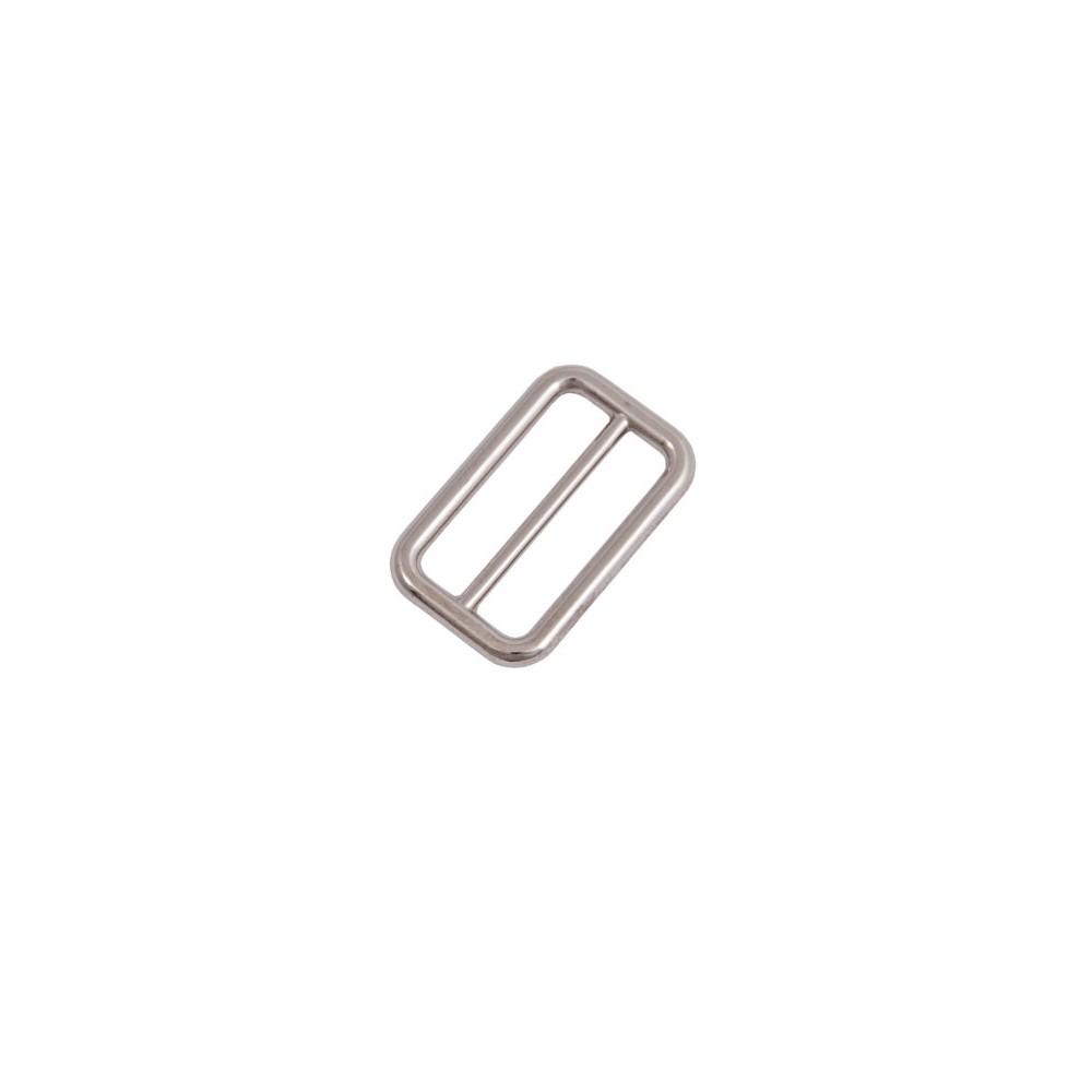 Gurtschieber 50 mm x 32 mm Nickel