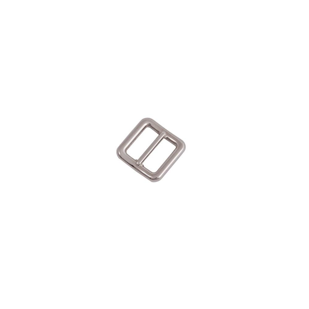 Gurtschieber 31 mm x 31 mm Nickel