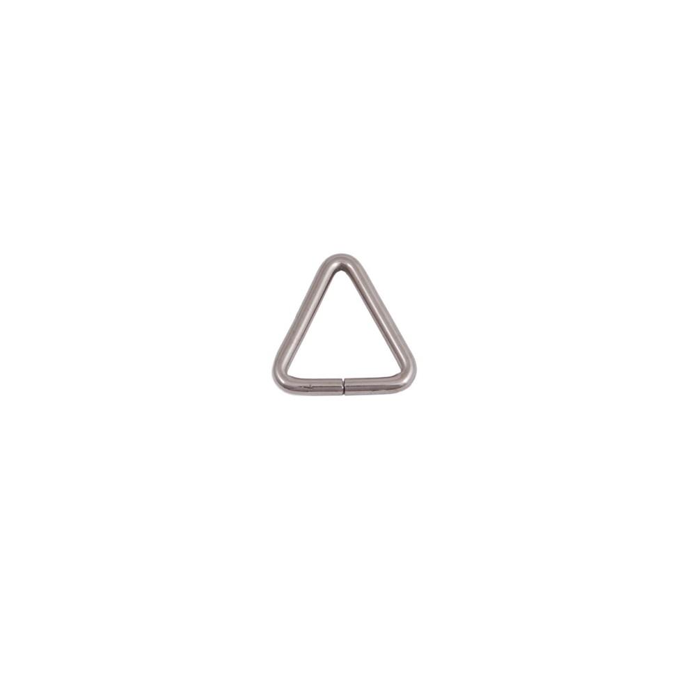Dreiecks-Schlaufe 30 mm Nickel