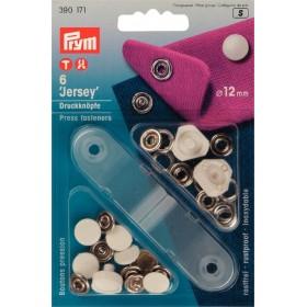 Druckknöpfe für Jersey 12 mm
