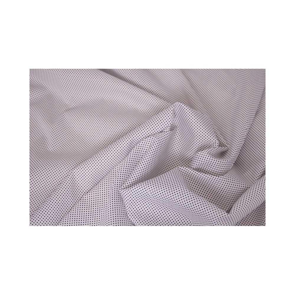 Bedruckter Stoff – Weiß mit Pünktchen