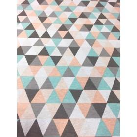 Dekostoff Muster Dreiecke
