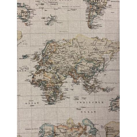 Leine Weltkarte