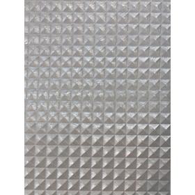 Kunstleder Pyramide Silber