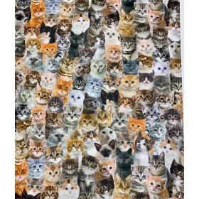 Dekostoff Katzen