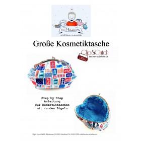 Näh - Anleitung für Tasche - 26 cm