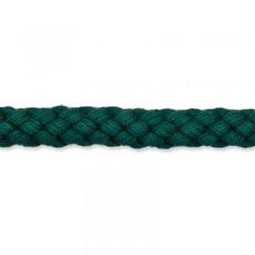 Kordel dunkelgrün 8mm Baumwolle