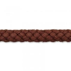 Kordel braun 8mm Baumwolle