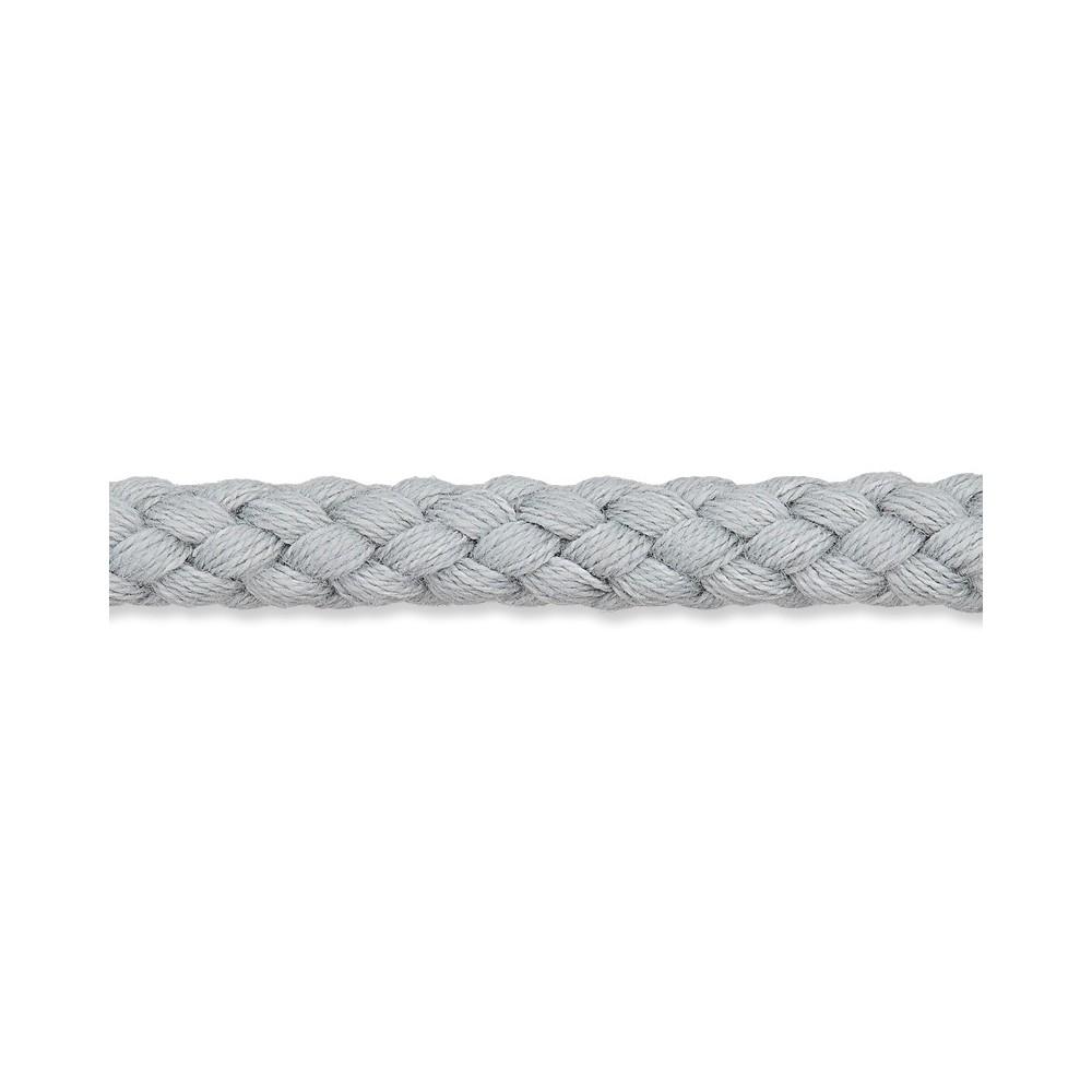 Kordel silber 8mm Baumwolle