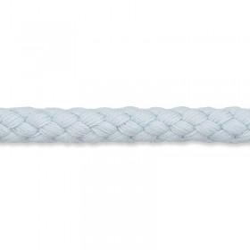 Kordel hellblau 8mm Baumwolle