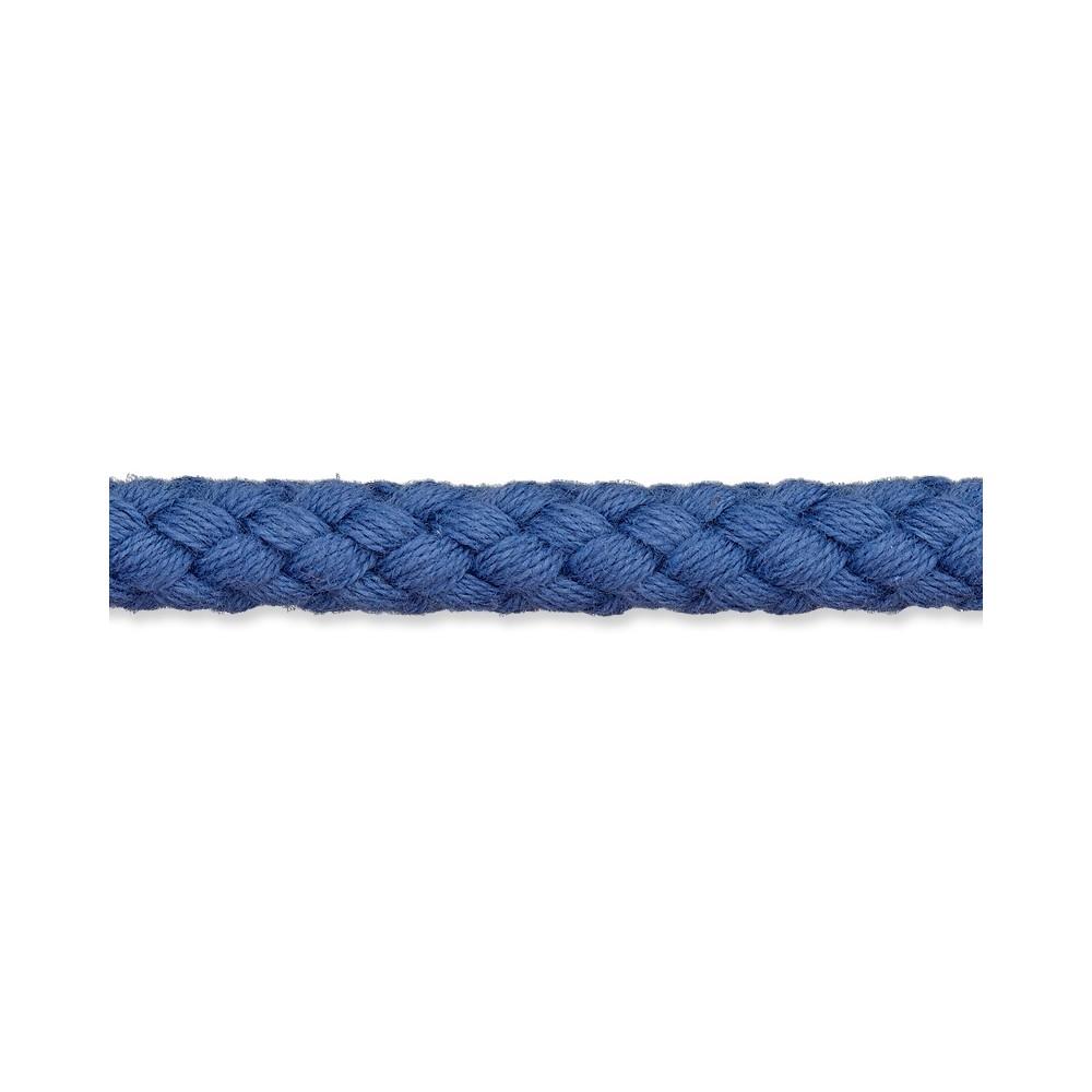 Kordel jeansblau 8mm Baumwolle