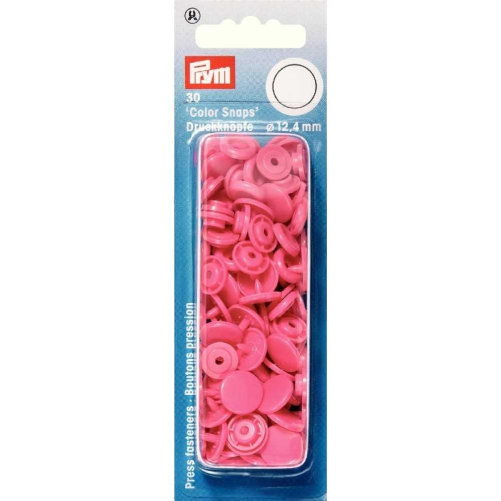 Druckknöpfe Color Snaps 12,4 mm Pink
