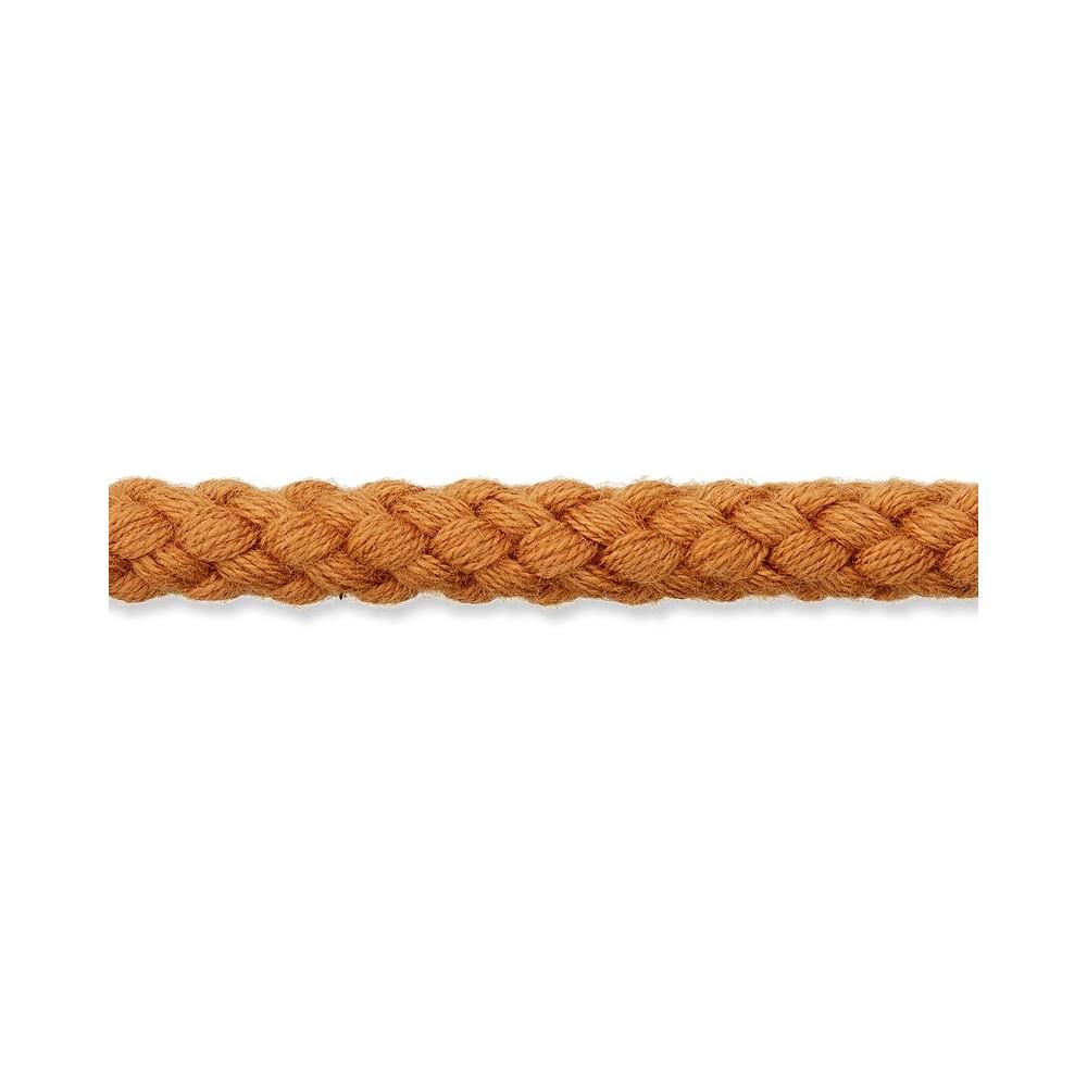 Kordel ocker 8mm Baumwolle
