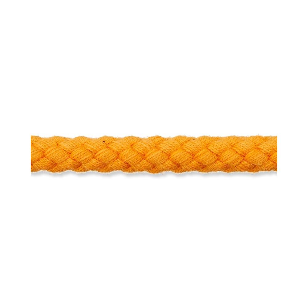 Kordel orange 8mm Baumwolle