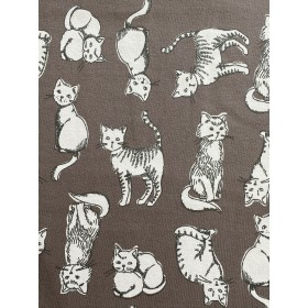 Jersey Katzen braun