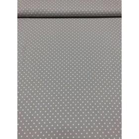 Jersey Punkte Muster beige