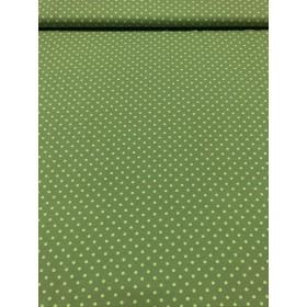 Jersey Punkte Muster grün