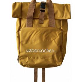Rucksack siebensachen senf