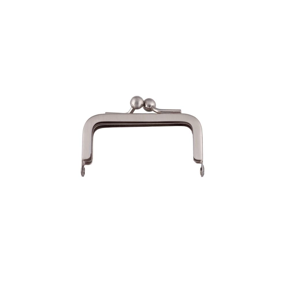 Taschenbügel 228/A4 6x6cm nickel-mattiert