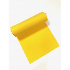 Bündchen Strickschlauch gelb