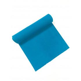 Bündchen Strickschlauch aquablau