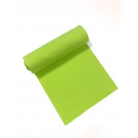 Bündchen Strickschlauch hellgrün