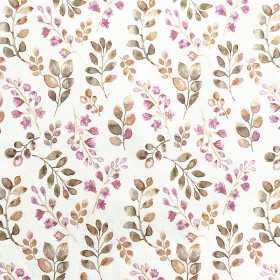 Jersey Blüten Blätter rosa olive