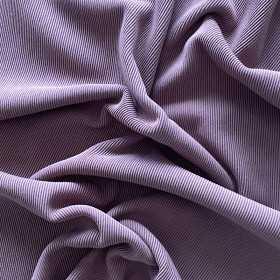 Ottoman Rib Jersey lila mauve