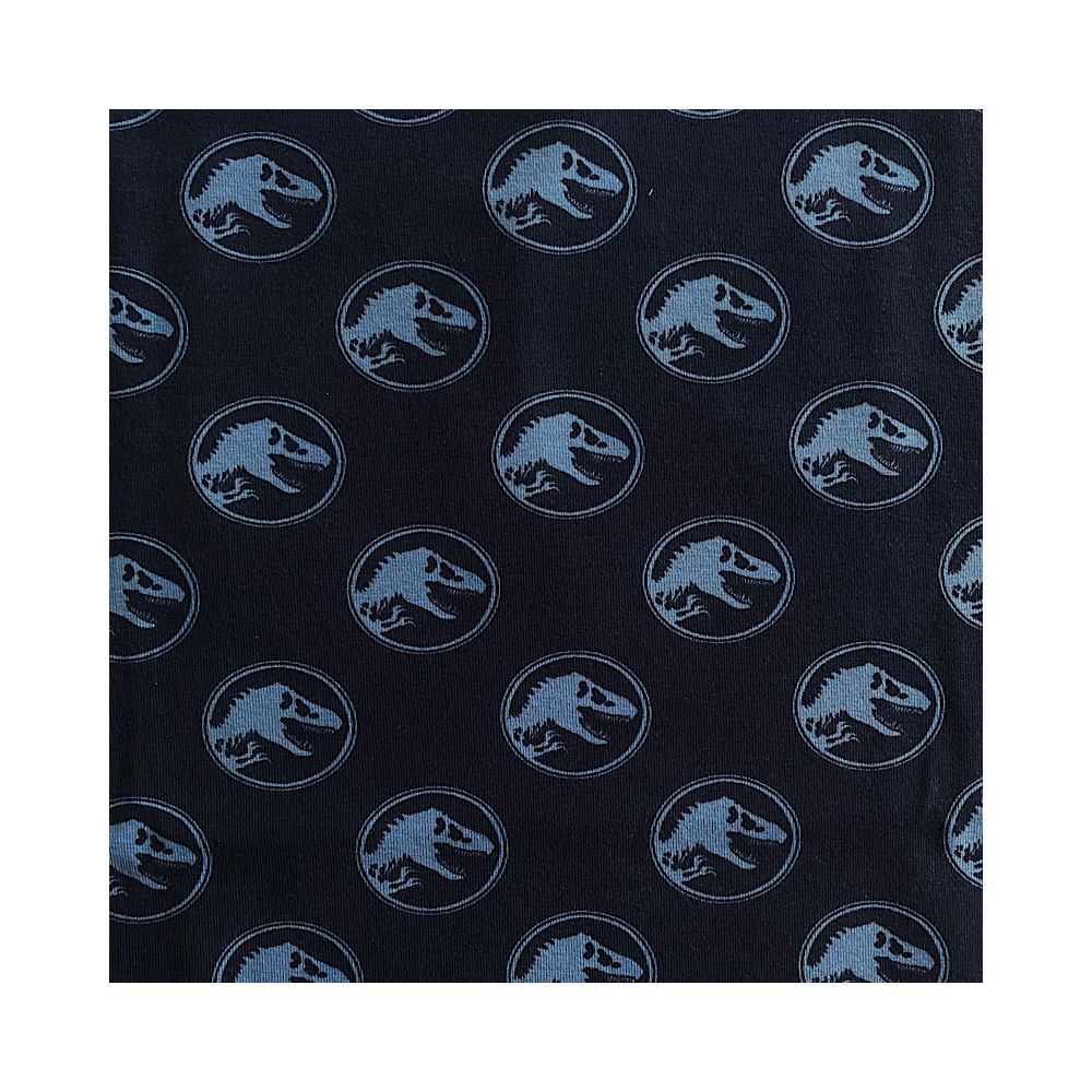 Jersey Trex Dinosaurier blau