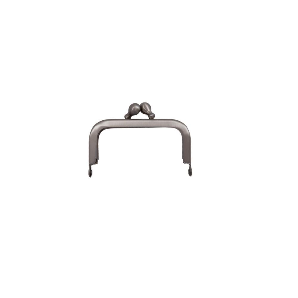 Taschenbügel 086/A4 6 x 6 cm Nickel mattiert