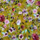 Jersey bunte Blumen SENF