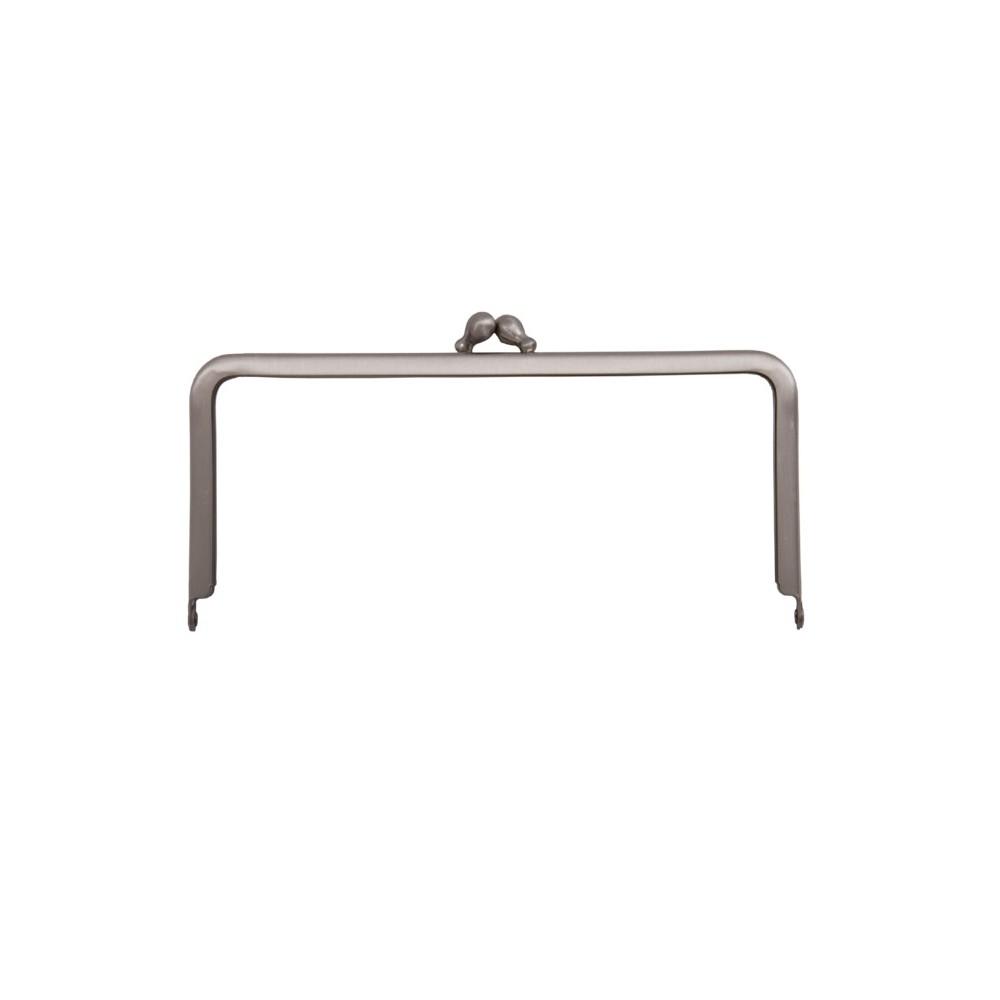 Taschenbügel 086/A4 12 x 12 cm Nickel mattiert