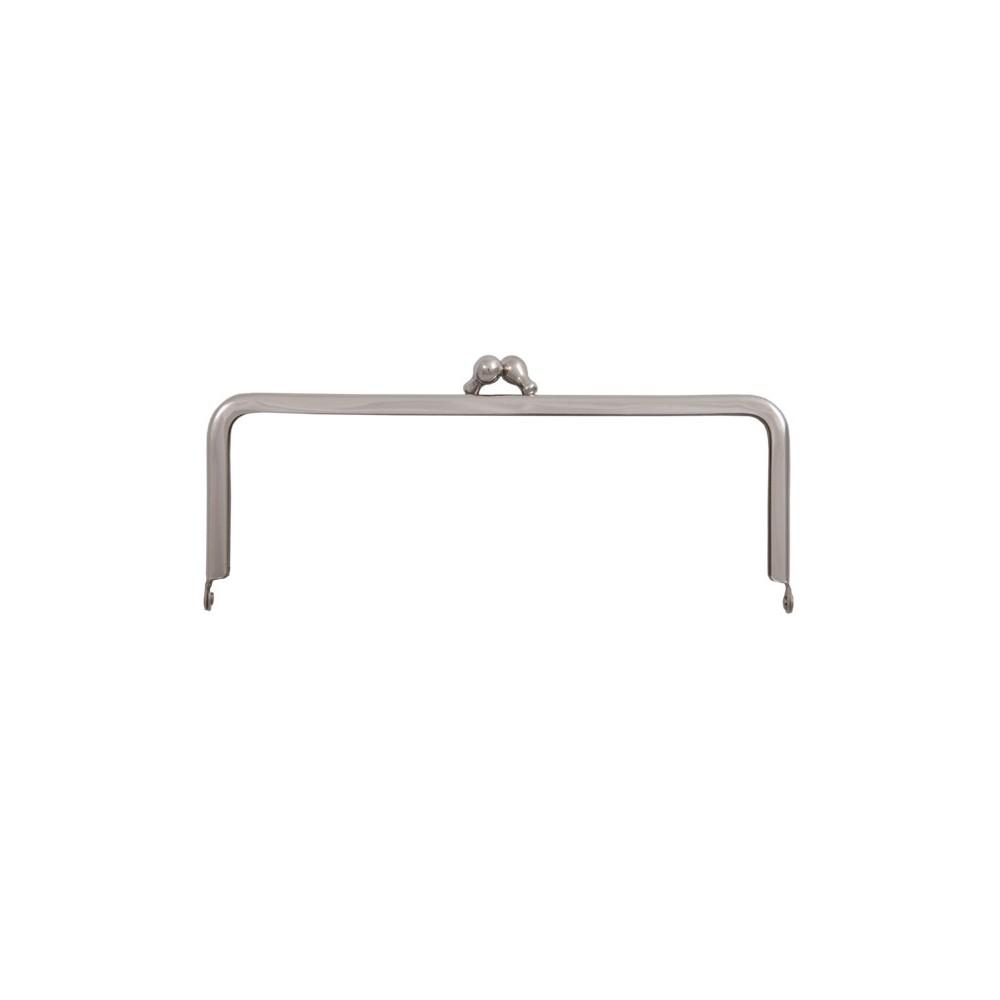 Taschenbügel 086/A4 12 x 10 cm Nickel glänzend