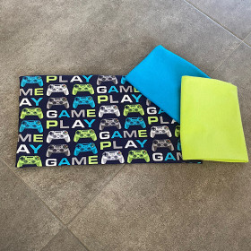 Game Play Stoffpaket 0,5m Motivjersey + 2x 0,5m Bündchen
