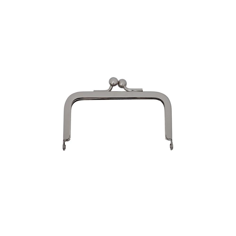 Taschenbügel 228/A4 8x8cm nickel-glänzend