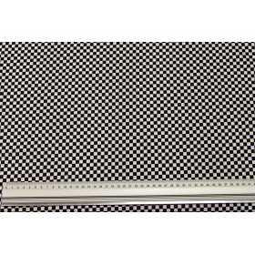 Schachbrettmuster schwarz-weiß