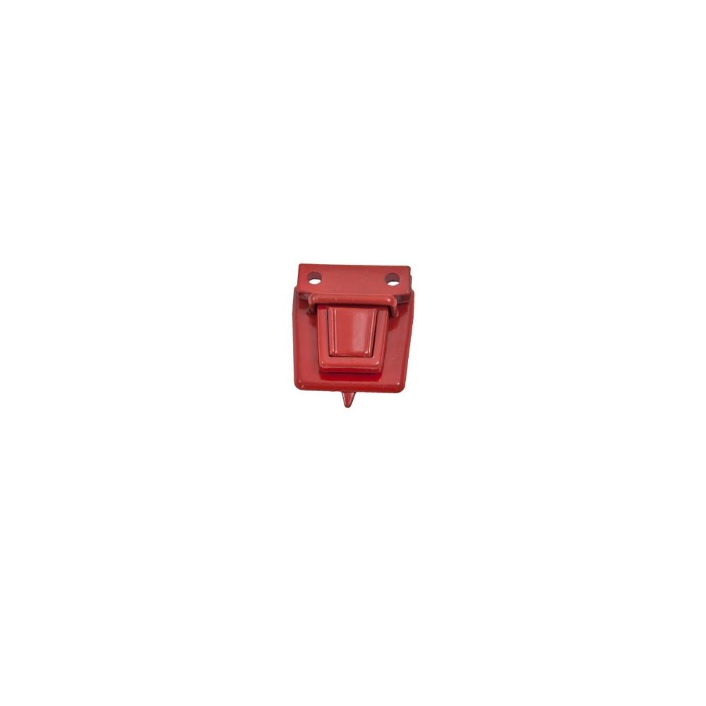 Steckschloss Rot 30 x 30 mm